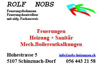 Nobs Feuerungen Heizung + Sanitärreparaturen